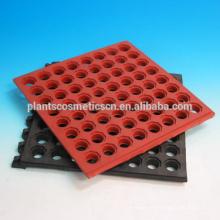 Anti-Rutsch- und Anti-Ermüdungs-ineinandergreifende poröse Gummibodenmatte