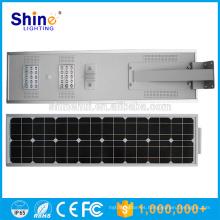 40W impermeabilizan el sensor de movimiento ip65 luz de calle solar integrada