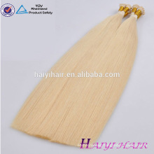 Free Chemical Treatment Thick End remy Russian I tip hair extensions