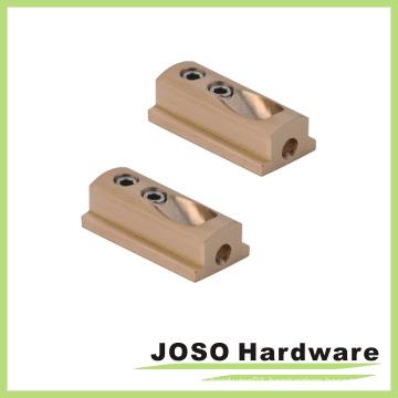 Shower Door Header Kit Brass Wall Mounting Brackets (AS11)