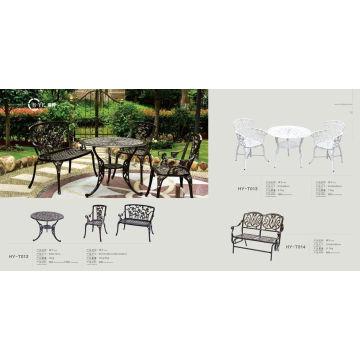 Outdoor Cast Aluminium Table (HY-T012)