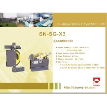 Elevador sobre o regulador de velocidade (SN-SG-X3)
