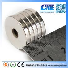 N50 D20X3X5mm Starke runde Ring Senkung Magnete