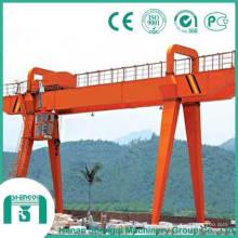 Capacidad de 32 toneladas de grúa pórtico de doble viga