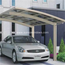 High Grade Easy DIY Elegant Aluminium Carport