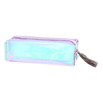 LASER PENCIL CASE WITH TASSEL-0