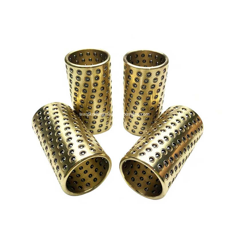 Copper Alloy Ball Bearing Retainer Rolling Guide Bushing Supporter Brass Steel Ball Cage Miniature Linear Ball Jpg Q50