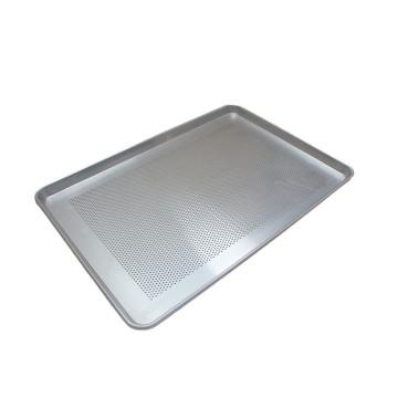 Casserole d'égouttage en métal perforé