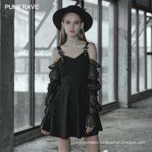 OPQ-519 punk rave Casual Dresses 2020 new arrivals long sleeved summer dresses