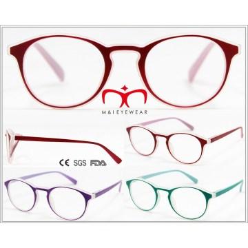 Nuevos vienen lentes de plástico de lectura de las señoras (wrp605619)