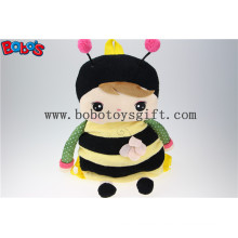 "19.6""Children′s Cartoon Plush Backpack Backpack Bees Modelling for Kindergarten Pupils Bos-1223/50cm"
