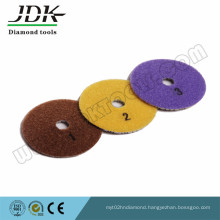Yp-1 3 Step Diamond Flexible Polishing Pads for Marble and Granite