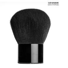Black Kabuki Powder Brush on Face (F120)
