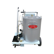 Road machinery Imported engine paint brush making machines for paint stripes roads