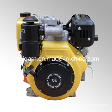 Diesel Engine with Oil Bath Air Filter Yellow Color (HR188FA)