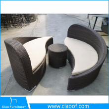 Alta calidad único diseño Rattan muebles Yin Yang muebles