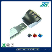 Security cover for USB flash drive