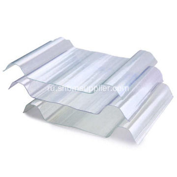 FRP+Fiber+Glass+Corrugated+Sunlight+Roofing+Sheet