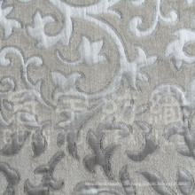 Garngefärbtes Polyester Jacquard Chenille Sofa Stoff