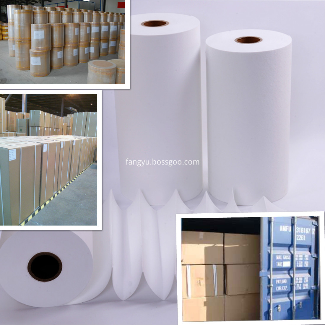 Spunbond PP HEPA Auto Air Filter Paper For The Car