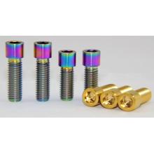 Boulons à billes à billes en titane M8 * 20 / 25mm