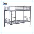 Modern steel adult double decker twin size bedroom bed