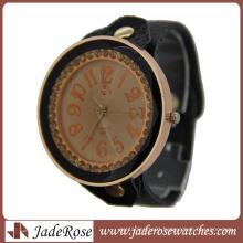 Leather Strap Fashion Ladies Quartz Watch