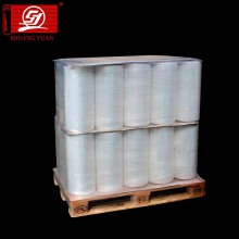 Excelente estiramiento 4-200 cm LLDPE Handle Rolls Stretch Film