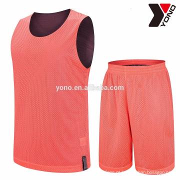preço competitivo basquete em branco atacado sublimação uniforme de basquete