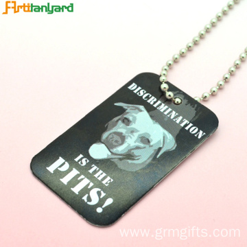 Men's Dog Tags Personalised By Metal