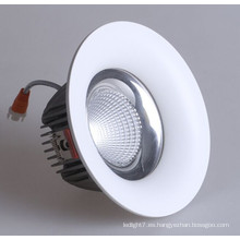 Dimmable Downlihgt 12W COB LED Downlight Iluminación LED