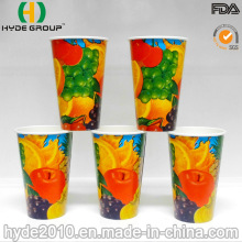 12oz Disposable Cold Drink Paper Cup with Custom Logo (12oz)