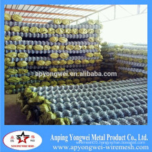 YW-Wire Mesh Chain Link Fence (GI Wire and PVC Coated Wire)