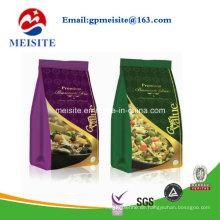 Selbstständer Snack Food Packaging Custom Druck Aluminiumfolie Zip Lock Bag