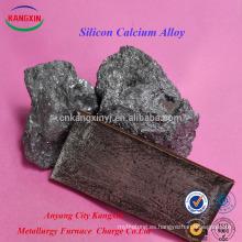 Certificado de SGS Silicon Calcium Alloy / casi / sica / pure Calcium Silicon
