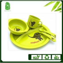 High Quality Bamboo Fibre Children Dinnerware (BC-BB-SU2001)