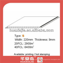 Panneau de plafond et mur en PVC220mm * 9mm