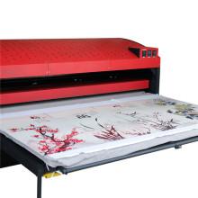 FJXHB4 Máquina de imprensa de calor pneumática de grande formato de estação de trabalho