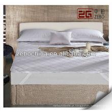 Protetor de colchão impermeável da cama impermeável