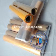 Открытый ПВХ Виниловые этикетки печать смолы ленты 256 мм * 76 м 308 мм * 50 м цвет смолы ленты