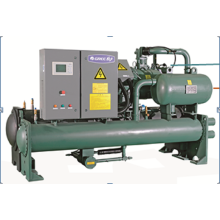 Absorption Cooling Industrial 80HP CE Water Cooled Screw Chiller Machine Water Cooler Chiller