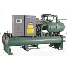 Absorptionskühlung Industrie 80HP CE Wassergekühlter Schraubenkühler Maschine Wasserkühler Kühler