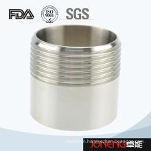 Stainless Steel Sanitary Pipe Fitting Threading Nipple (JN-UN2019)