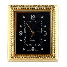 Mini Relógio Quadrado Relógio De Quartzo Insere Com Movimento Japonês