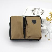 Eco Friendly Waist Tool Bag Natural Jute Electrician Tool Pouch Large Capacity Durable Waist Tool Belt Bag