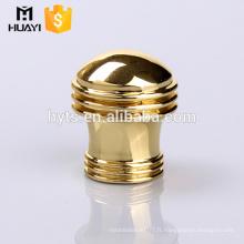 couvercle en métal zamac doré populaire