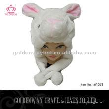 Sombrero de orejas de conejo invierno