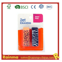 Fancy Non Toxic TPR Material Eraser