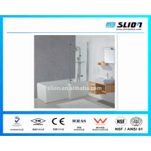 good quality bath tubs and shower with flat tempered glass