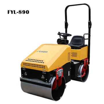 Japan Engine 1 Ton Small Road Roller For Bitumen Compaction